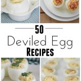 50 Deviled Egg Recipes | www.tasteandtellblog.com