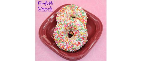 Funfetti Donuts | Michelle's Tasty Creations