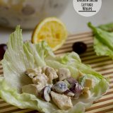 Hawaiian Chicken Salad Lettuce Wraps | www.tasteandtellblog.com
