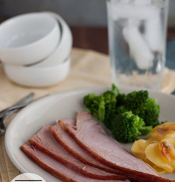Honey Glazed Ham | Taste and Tell | www.tasteandtellblog.com