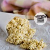 Marshmallow Caramel Popcorn - You'll never go back to normal caramel corn again! | www.tasteandtellblog.com