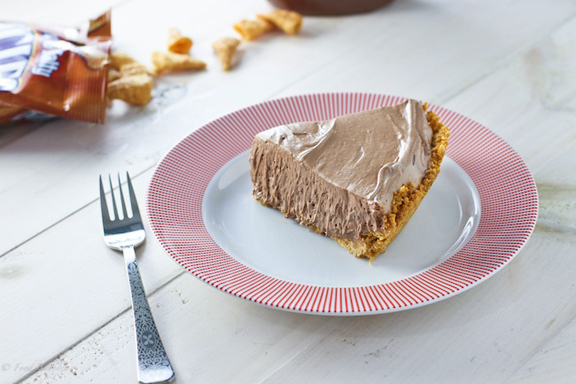 Nutella Mousse Pie |FoodBabbles