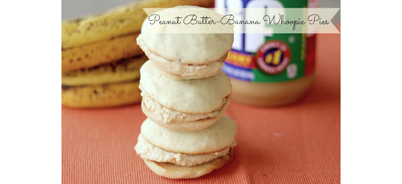 Peanut Butter Banana Whoopie Pies fromt The Unsophisticated Kitchen