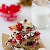Banana Split Bars | www.tasteandtellblog.com