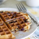 Blueberry Muffin Waffles {Giveaway}