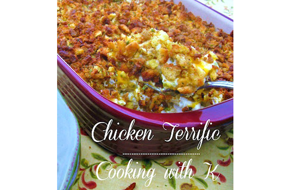 Chicken Terrific from Cooking With K