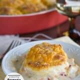 Creamy Chicken and Biscuits | www.tasteandtellblog.com