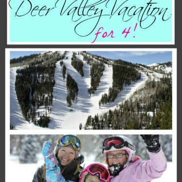 Win a Vacation to Deer Valley Resort