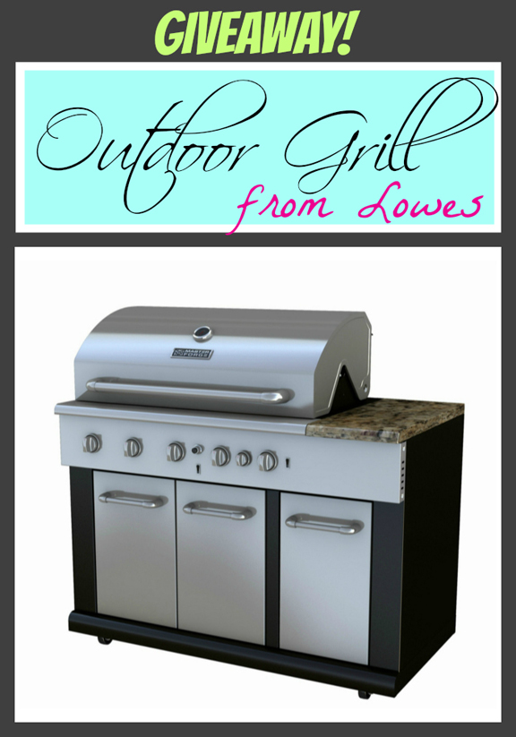 Outdoor Grill Giveaway