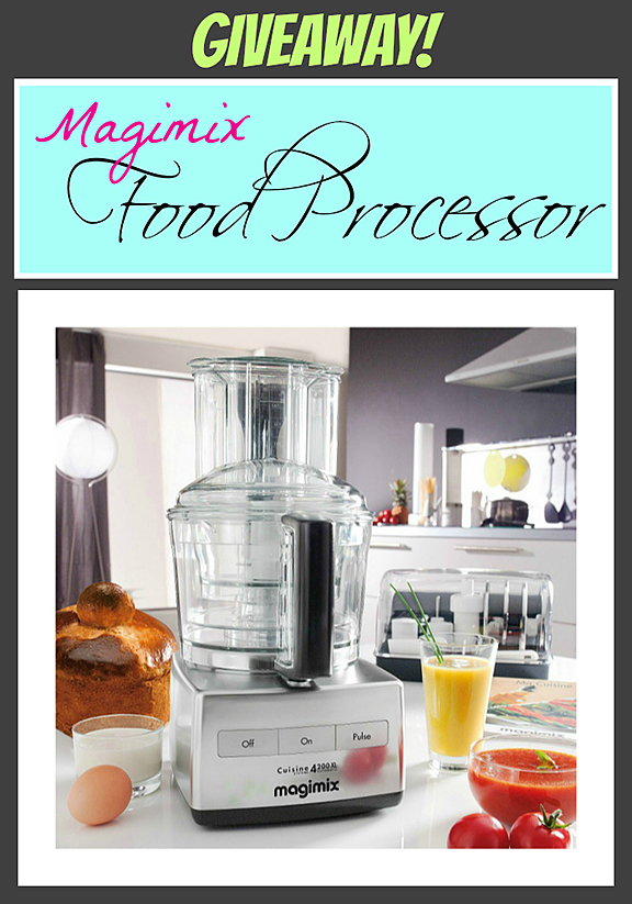Monday Giveaway - Magimix Food Processor