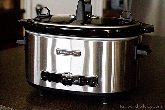 KitchenAid Slow Cooker | www.tasteandtellblog.com