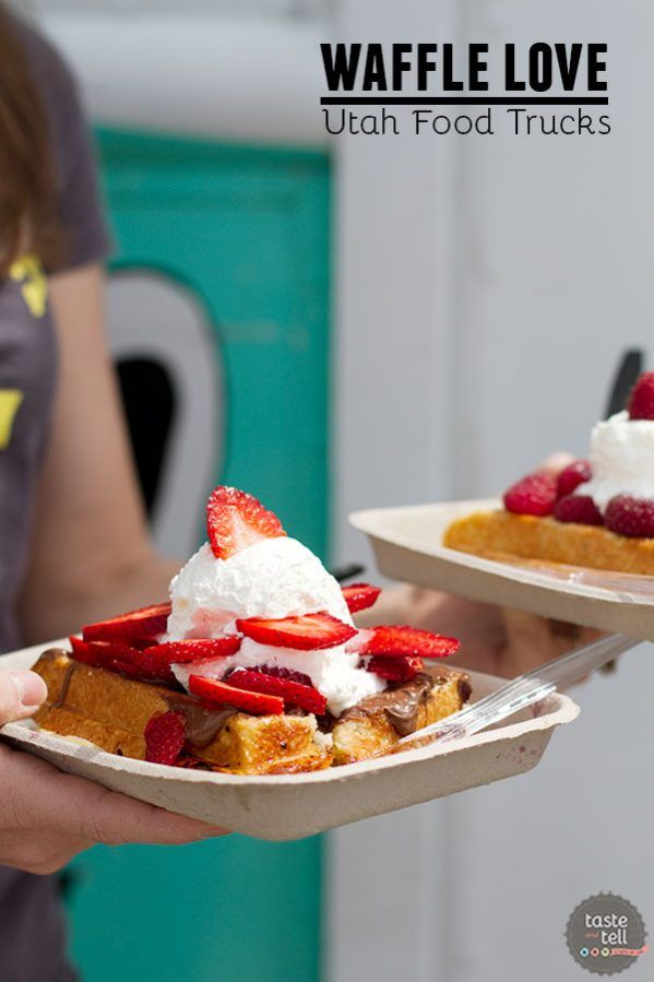 Waffle Love - Utah food truck serving Liege style waffles with fresh toppings.