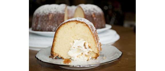 Twinkie Bundt Cake from Pink Tiger in the Kitchen