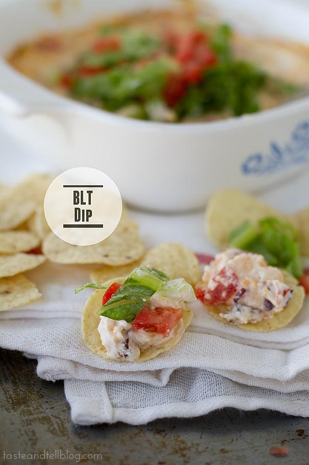 BLT Dip | www.tasteandtellblog.com