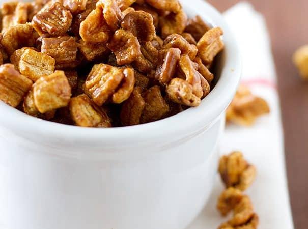 Cinnamon Caramel Fiber One Mix | www.tasteandtellblog.com
