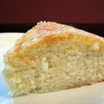 Lemon Cake and Cookbooks