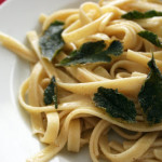 Cookbook of the Month Recipe – Brown Butter and Sage Fettuccine