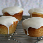 Cookbook of the Month Recipe – Glazed Lemon Cakes