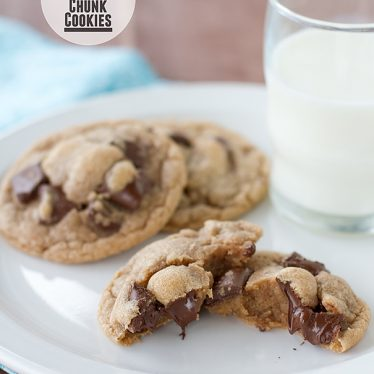 Malted Chocolate Chunk Cookies | www.tasteandtellblog.com