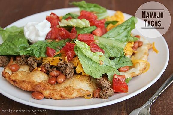 Taste and Tell Thursdays – Navajo Tacos