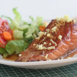 Cookbook of the Month Recipe – Slow Baked Salmon with Soy Sauce and Ginger