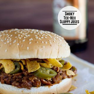 Smoky Tex-Mex Sloppy Joses | www.tasteandtellblog.com