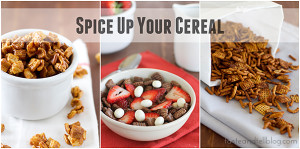 Spice Up Your Cereal | www.tasteandtellblog.com