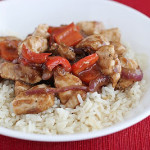 Saturdays with Rachael Ray – Sweet Pepper Chicken with 5 Spice
