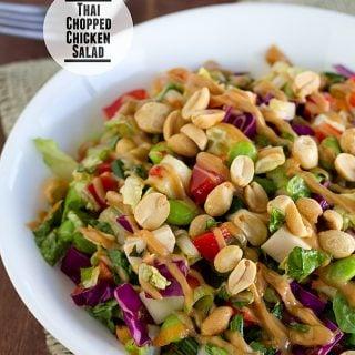 Thai Chopped Chicken Salad | www.tasteandtellblog.com