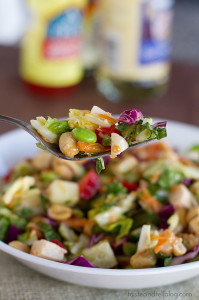 Thai Chopped Chicken Salad | www.tasteandtellblog.com