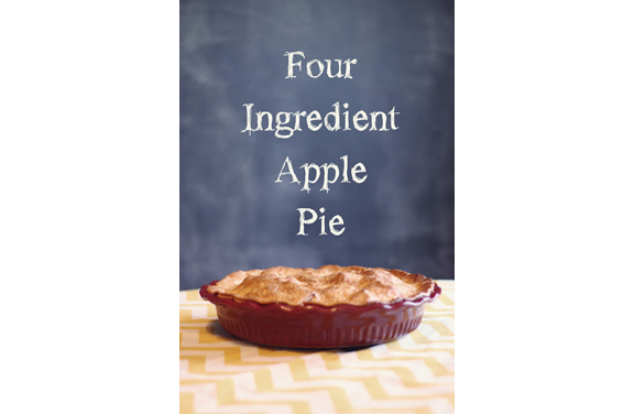Four Ingredient Apple Pie from Rebekah of Schenewark Farm
