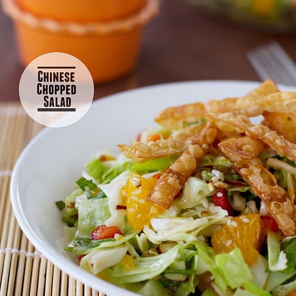 Chinese Chopped Salad | www.tasteandtellblog.com