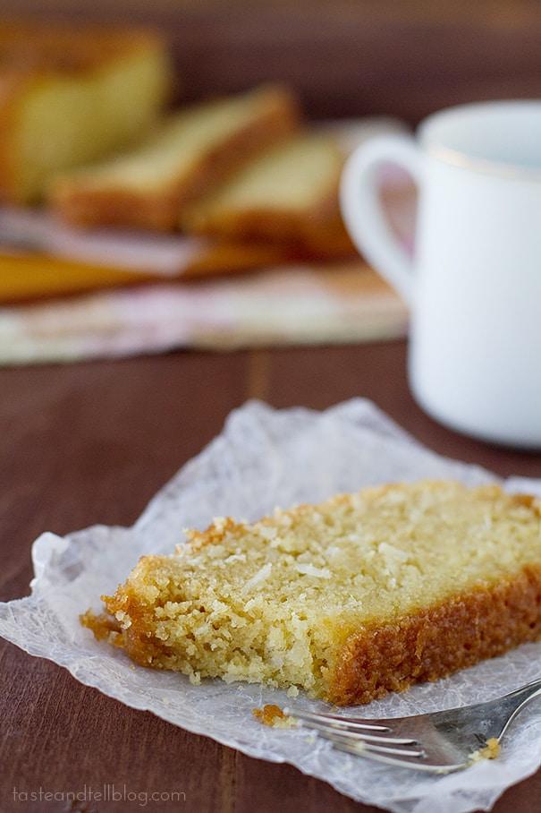 Coconut Bread | www.tasteandtellblog.com