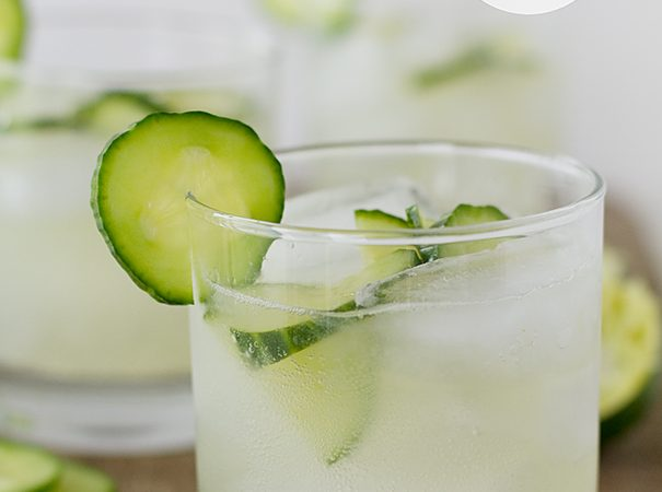 Sparkling Cucumber Limeade   www.tasteandtellblog.com