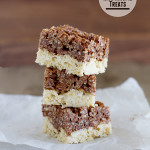 Black and White Rice Krispie Treats | www.tasteandtellblog.com