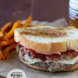 Meatball Patty Melts | www.tasteandtellblog.com