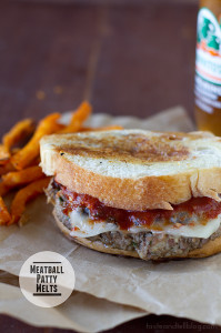 Meatball Patty Melts | www.tasteandtellblog.com