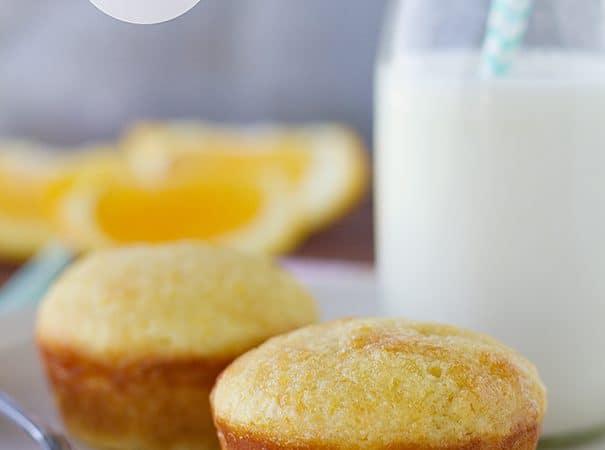 Orange Muffins | www.tasteandtellblog.com