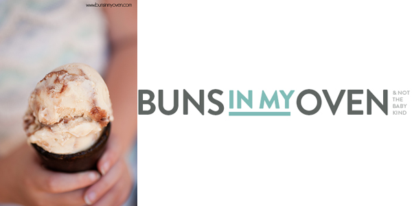 Peanut Butter Fudge Ripple Ice Cream by Buns in My Oven