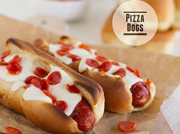 Pizza Dogs   www.tasteandtellblog.com