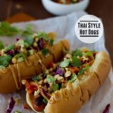 Thai Style Hot Dogs | www.tasteandtellblog.com