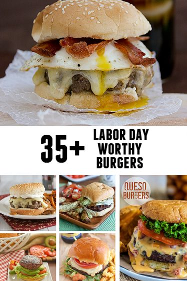35+ Labor Day Worthy Burgers | www.tasteandtellblog.com