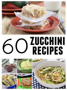 60 Zucchini Recipes | www.tasteandtellblog.com