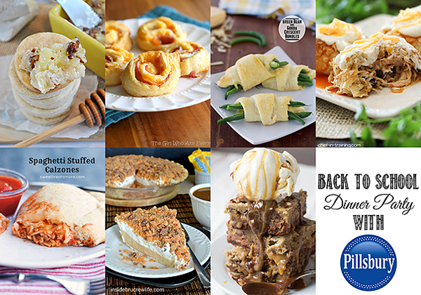 Back to School Dinner Party with Pillsbury