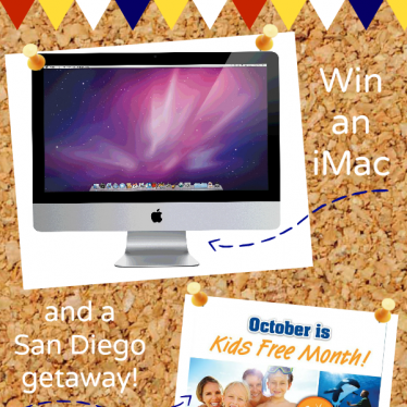 Back to School Giveaway - iMac Computer and San Diego Vacation! | www.tasteandtellblog.com