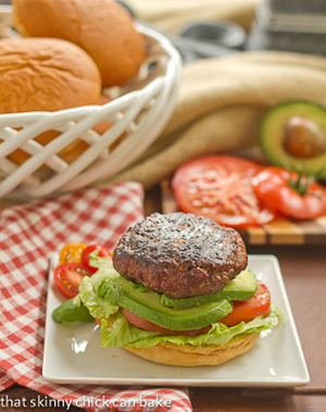 California Burgers by That Skinny Chick Can Bake