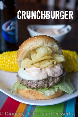 Crunchburger by Dinners, Dishes and Desserts
