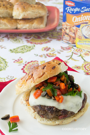 Flamenco Burger by Cook the Story