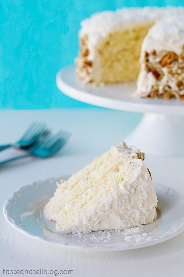 Italian Cream Cake Taste And Tell