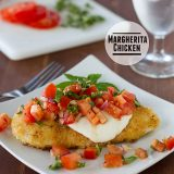 Margherita Chicken | www.tasteandtellblog.com